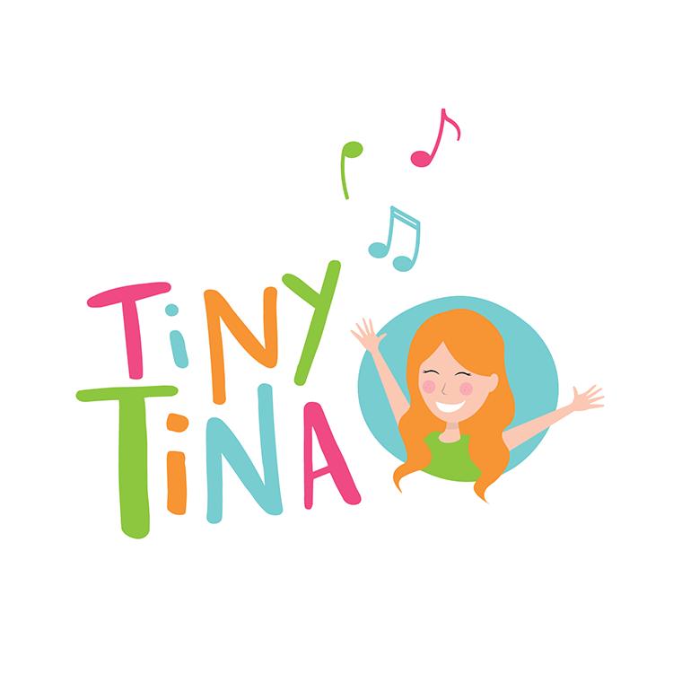 Logo Design for Tiny Tina branding
