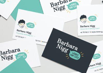 Barbara Nigg Copywriter