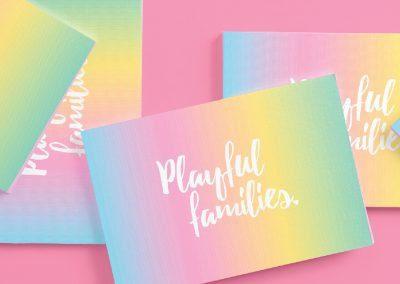 Playful Families Branding Design and Illustration