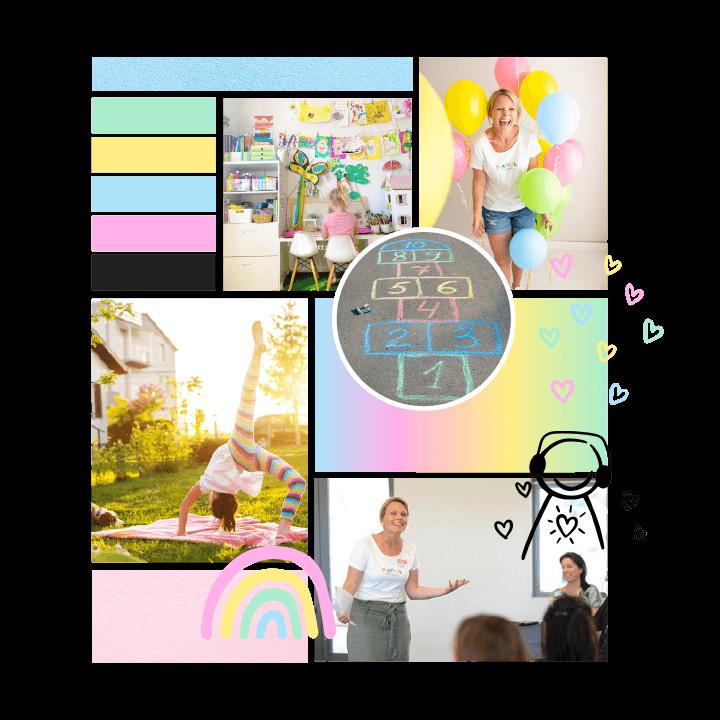 Moodpboard Design for Playful Families