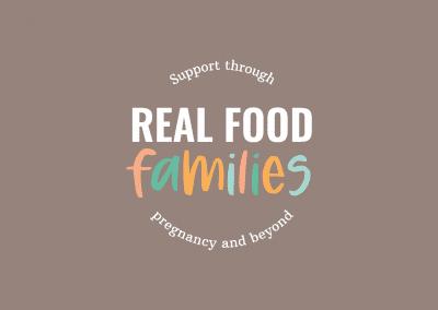 Real Food Families Logo Design