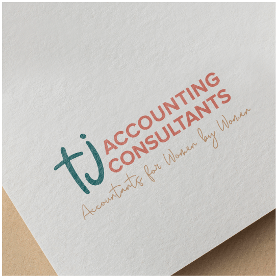 Logo Design for Brisbane Accounting Firm TJ Accounting Consultants