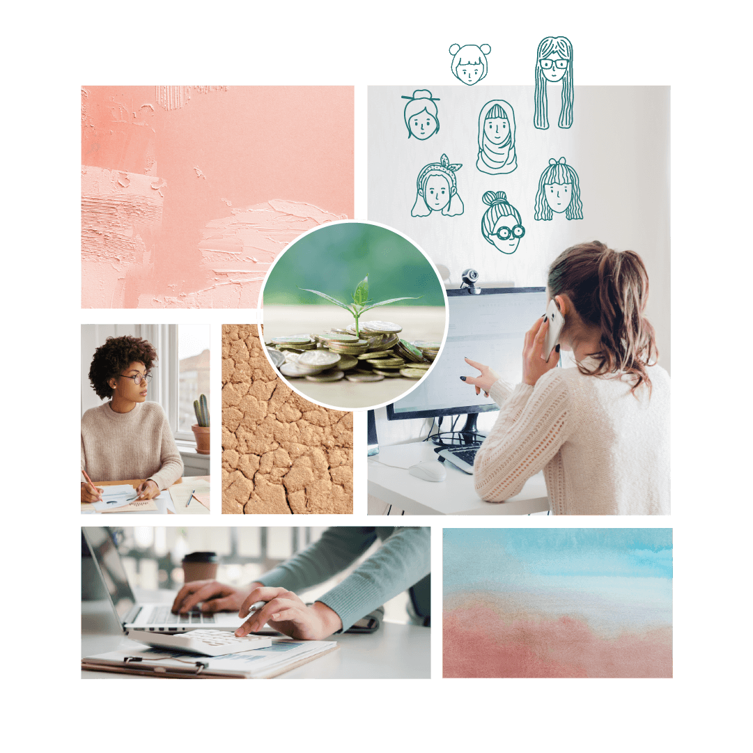 Brand Moodboard Design for Brisbane Accounting Firm TJ Accounting Consultants
