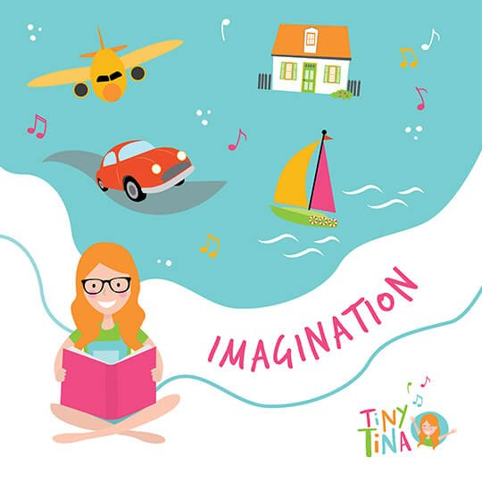 girl with glasses and orange hair reading a book illustrated by Brisbane illustrator Kat Potter